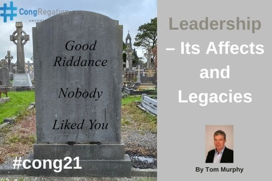 Image supporting Tom Murphys leadership article illustrating a focus on legacy